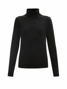 Erdem - Kirstie Floral-print Silk-chiffon Midi Dress - Womens - Pink Print