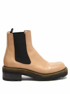 La DoubleJ - Bellini Tiered Silk-twill Shirtdress - Womens - Green