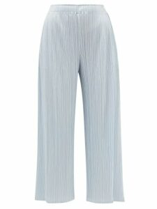 Marni - Topstitched Patch-pocket Cotton-poplin Shirt - Womens - Navy