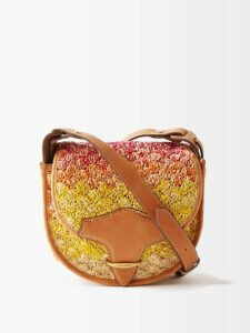 Vetements - Sunburst Pleated Jersey Midi Dress - Womens - Red