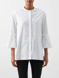 Prada - Tie-dye Wool Blend Sweater - Womens - Black Pink