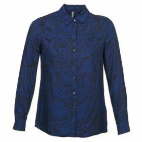 Naf Naf  LORRICE  women's Shirt in Blue