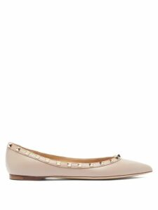 Sea - Tatiana Pintucked Floral-print Cotton Blouse - Womens - Navy