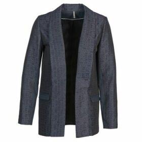 Naf Naf  ELYO  women's Jacket in Blue