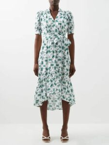 Marni - Roll-neck Mohair-blend Sweater - Womens - Red