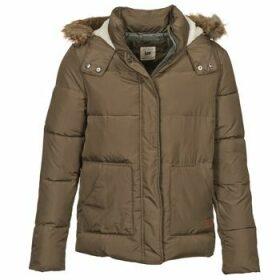 Lee  PUFFER  women's Jacket in Brown