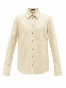 Rebecca Taylor - Fil-coupé Twist-front Blouse - Womens - Black White