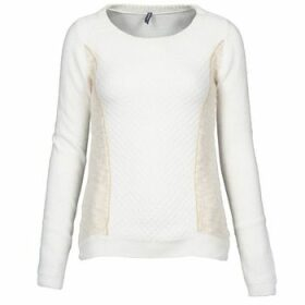 Naf Naf  MIBI  women's Sweater in White
