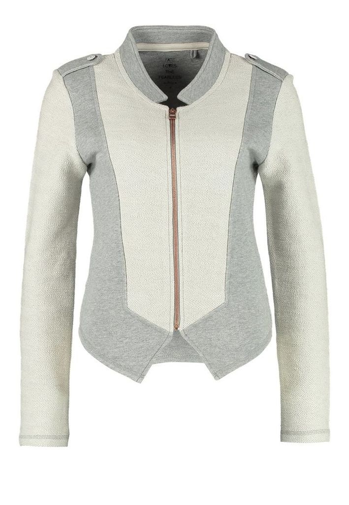 ONLY SHINE Blazer light grey melange