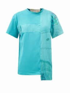 Mm6 Maison Margiela - Logo-jacquard Wool-blend Sweater - Womens - Brown