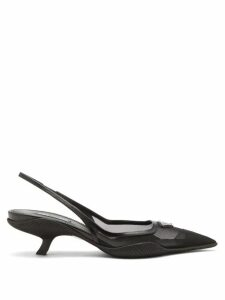 Joseph - Fran Wide-sleeve Collared Silk Blouse - Womens - Navy