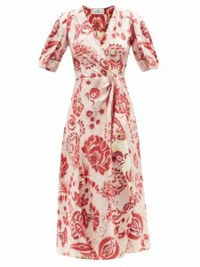 See By Chloé - Ruffled Georgette Blouse - Womens - Light Pink