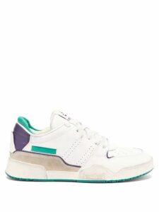 Saint Laurent - Metallic-stripe Cotton-blend Sweater - Womens - Black Silver