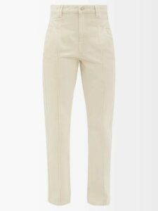 Church's - Alexandra Patent-leather Boots - Womens - Dark Grey