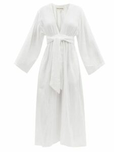 Chloé - Tess Small Leather And Suede Cross Body Bag - Womens - Burgundy