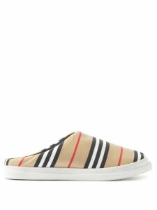 Marni - Pannier Small Leather Bucket Bag - Womens - Brown