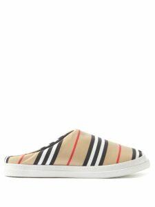 Marni - Pannier Small Leather Bucket Bag - Womens - Brown