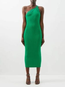 Giuliva Heritage Collection - The Stella Double-breasted Striped Wool Blazer - Womens - Red Multi