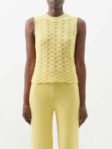 Ann Demeulemeester - Open-back Silk-satin Crepe Gown - Womens - Black