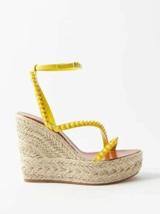 Sies Marjan - Devin Faux Crocodile Effect Layered Trench Coat - Womens - Purple