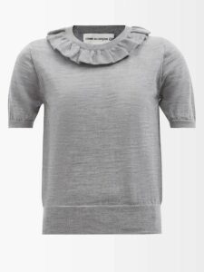Pallas X Claire Thomson-jonville - Dante Single Breasted Wool Twill Blazer - Womens - Black