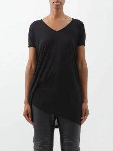 The Row - Kate High Rise Slim Leg Jeans - Womens - Blue