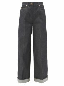 Raey - Long-sleeved Slubby Cotton-jersey T-shirt - Womens - Navy