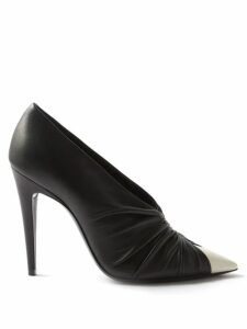 Isabel Marant Étoile - Moby Flocked Logo Cotton Blend Sweatshirt - Womens - Dark Pink