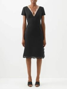 Loewe - Queen's Guard Print Canvas And Leather Tote Bag - Womens - Beige Multi