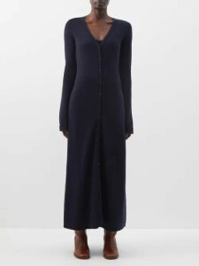 Moncler - Gathered-sleeve Cotton-blend Jersey Sweatshirt - Womens - Black