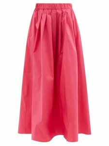 Erdem - Cressida Clarence-print Silk Dress - Womens - Black Print