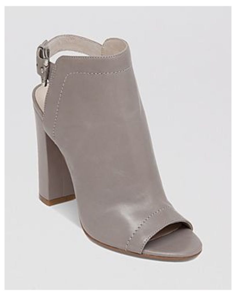 Vince Camuto Open Toe Booties - Vamelia High Heel
