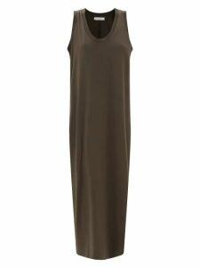 Erdem - Aspen Clarence Floral-print Satin Slip Dress - Womens - Black Multi