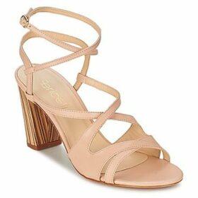 Fericelli  AXABELLE  women's Sandals in Beige
