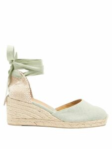 Lisa Marie Fernandez - Cropped Seersucker Cardigan - Womens - Black Gold