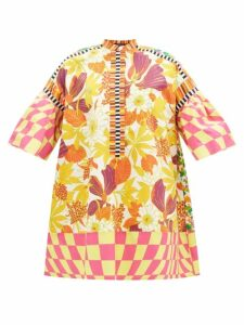 Gioia Bini - Lucinda Macramé Lace Maxi Dress - Womens - Green