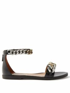 La Doublej - Pouf Abstract Print Cotton Blend Skirt - Womens - Green Multi