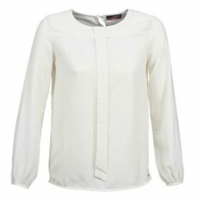 La City  GUENAELLE  women's Blouse in White