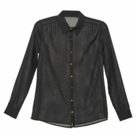La City  PRISCA  women's Shirt in Black