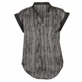 Fornarina  QUEENSWAY  women's Blouse in Black