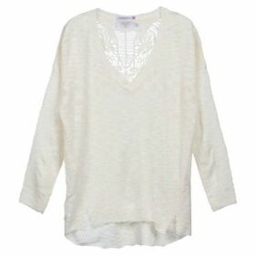 Le Temps des Cerises  AMAROK  women's Sweater in White