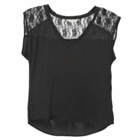 Naf Naf  HAKI  women's Blouse in Black