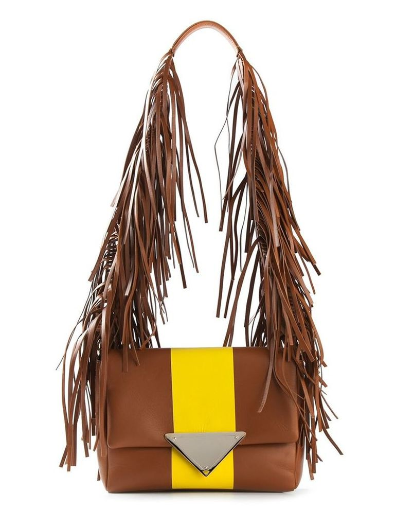 Sara Battaglia 'Stripe Teresa' shoulder bag