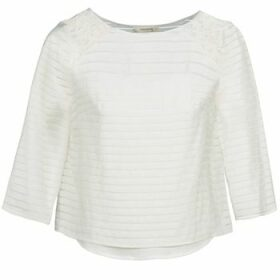 Naf Naf  HORITA  women's Blouse in White
