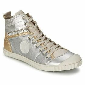 Pataugas  BANJOU/M  women's Shoes (High-top Trainers) in Silver