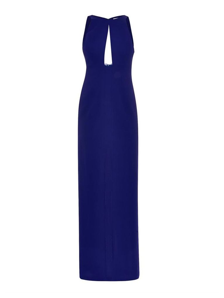 Split-front gazar gown