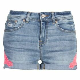 Superdry  CUT OFF SHORTIE  women's Shorts in Blue