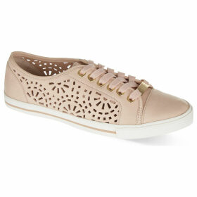 Carvela Lantern laser cut trainers, Women's, Size: EUR 36 / 3 UK, Nude