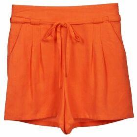 Naf Naf  KUIPI  women's Shorts in Orange