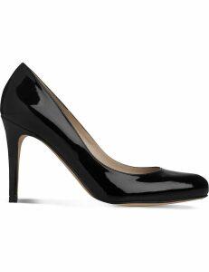 Lk Bennett Stila patent-leather courts, Women's, Size: EUR 38 / 5 UK, Bla-black
